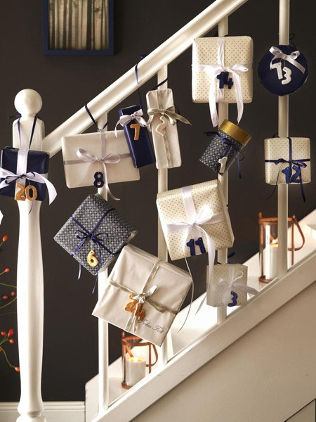 Advent Calendar Wrapping Ideas : Home dzine craft ideas easy to make your own