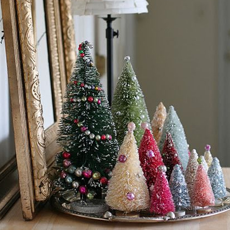 Home dzine craft ideas make a sisal bottle brush - Make your own christmas tree decorations ...