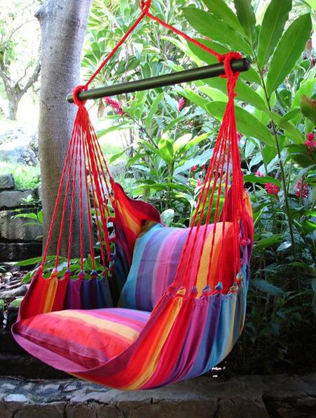 Home Dzine Garden Ideas Easy To Make Hanging Hammock