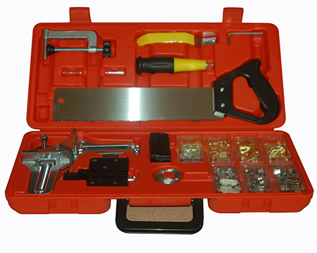 Home dzine home diy picture framing kit for anyone who enjoys diy projects like making picture frames the tork craft picture framing kit is a great gift to give or receive solutioingenieria Choice Image