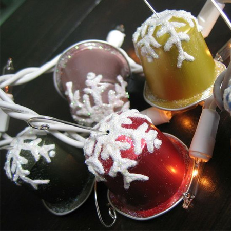 Festive crafts with Nespresso capsules