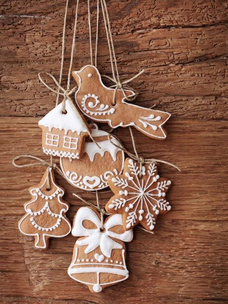 Home dzine recipes and cooking tips make edible for Gingerbread decorations