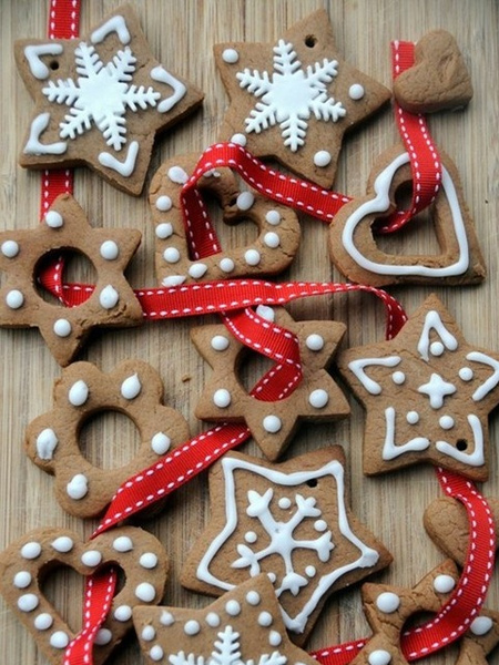 edible gingerbread swag festive decorations