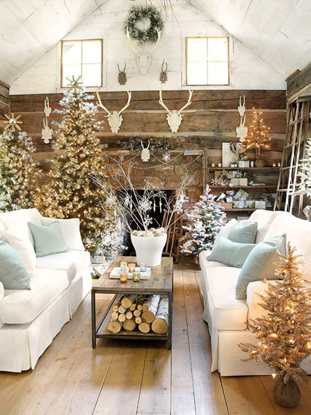 Home dzine home decor last minute christmas decorating ideas Home dezine
