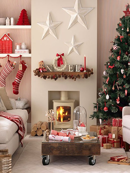 HOME DZINE Home Decor | Last minute Christmas decorating ideas