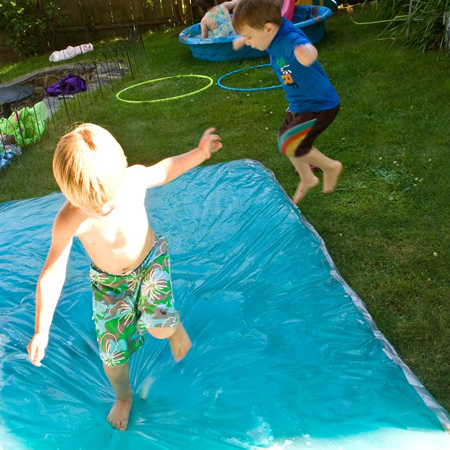 How to make a water blob for children