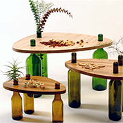 A Table Made From Recycled Material