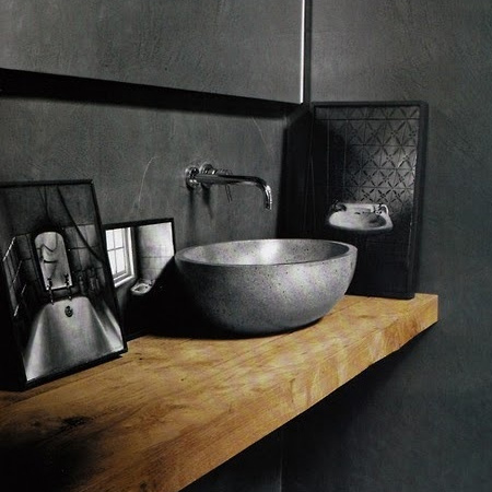 You can use this method to craft your own bathroom vanity basins