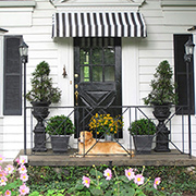 Make a door or window awning