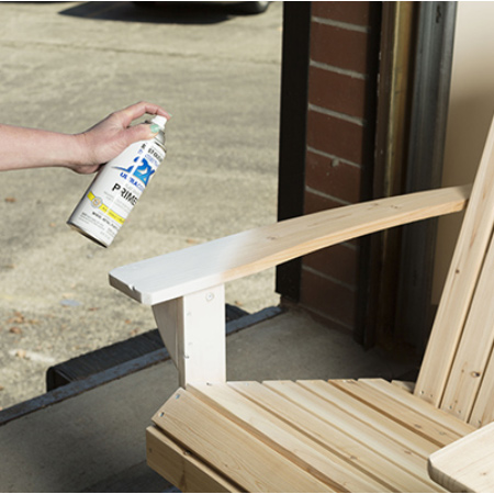 can i spray paint outdoor wood furniture