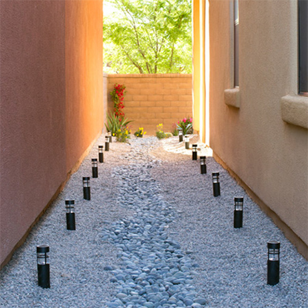 Home Dzine Garden Ideas Easy Drainage Solution For Water Run Off