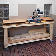 DIY make a workbench for your mitre saw