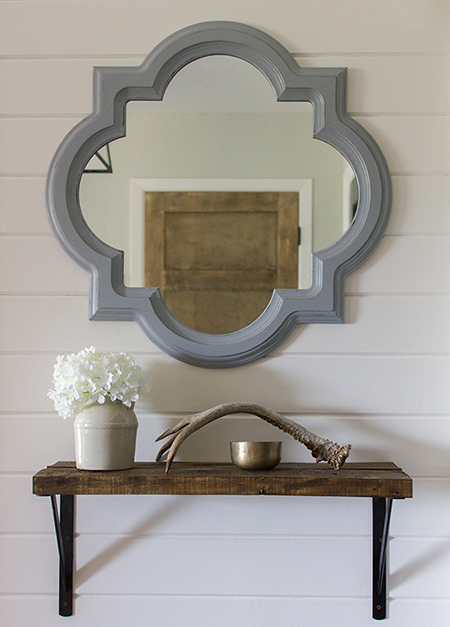 Make your own ornamental mirror