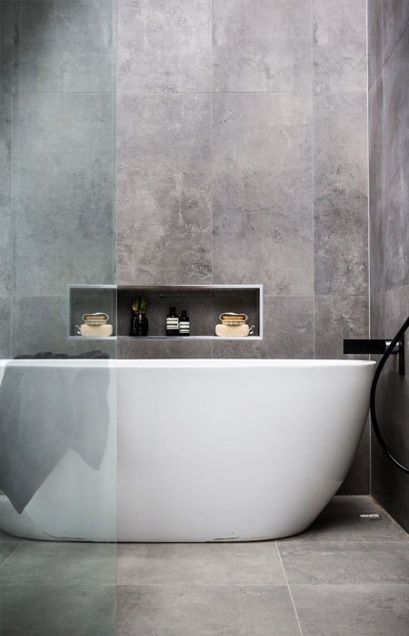 Available In Dark And Dramatic Or Soft Serene Colour Variations Johnson Tiles Concrete