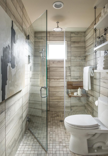 Why settle for boring walls when you have so many exciting alternatives to choose from. Today you can pick from wall treatments that  effects that mimic everything from wood panelling to concrete- and wood-look tiles.