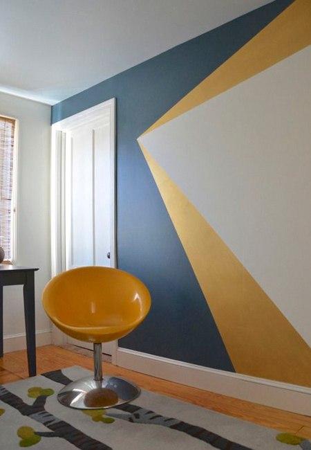 Add a personal touch by experimenting with paint