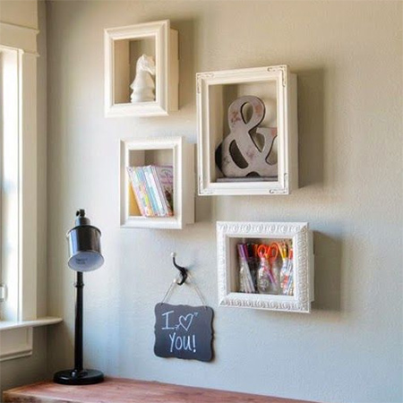 you can use a shadow box to display your favourite decor accessories to make a shadow box all you need are some pieces of pine or board and moulding for - Diy Shadow Box Frame