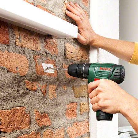 Bosch drill / drivers have evolved from conventional drill / drivers, to models that now offer the functions of a drill / driver including the latest innovation, the Bosch PSB 10,8 LI-2 Combi drill that incorporates a hammer function for drilling into walls.