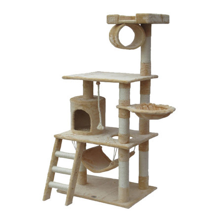 Home dzine home diy how to make a cat play stand for Climbing tree stand plans