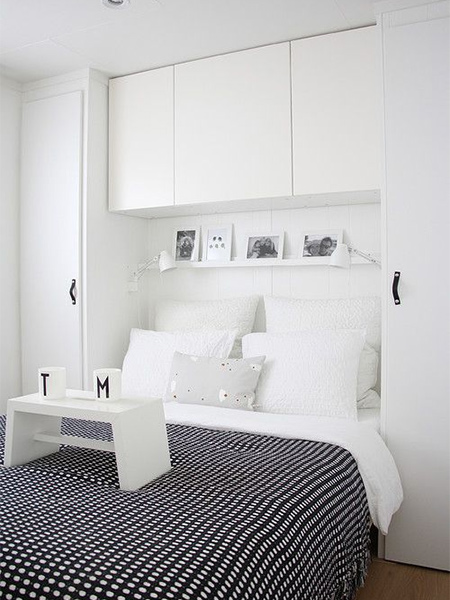 Storage Ideas Around The Headboard Built In Cupboards