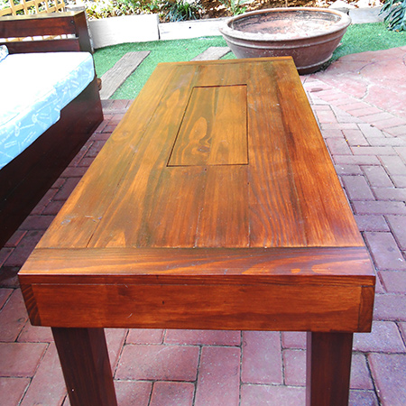 diy make outdoor patio table