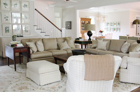 Decorating with muted shades