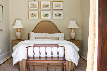 bedrooms in muted or neutral colours