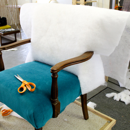 How to re-upholster old furniture