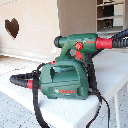 HOME-DZINE - DIY Projects - If you want a professional finish for all your painting projects, the Bosch PFS 2000 is definitely a worthwhile investment. It's easy to use and gives a brush stroke free finish that finishes off perfectly. The Bosch PFS 2000 retails at around R1200 and you can buy online here.