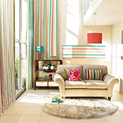 Add colour, pattern and texture with fabrics