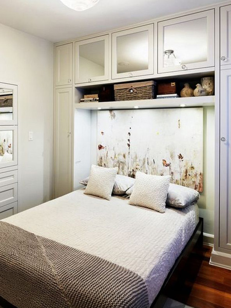 Home Dzine Bedrooms Storage Ideas Around The Headboard