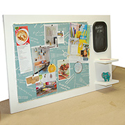 Pinboard office organiser
