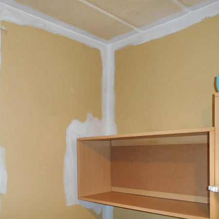 Prominent Paints offer an easy way to paint around built-ins.