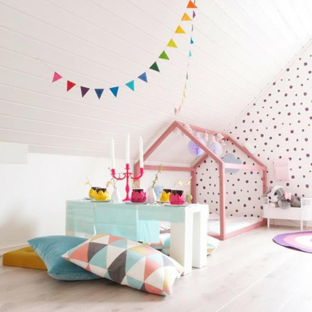 decorating ideas dreamy bedroom for little girl adorable house frame bed