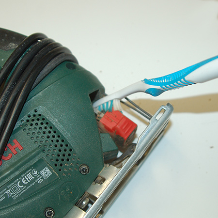 No matter the age or type of power tool, all tools need to be cleaned and maintained to keep them in good working order.