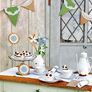 Pretty and affordable party decor