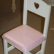 Upholstered kiddies chair