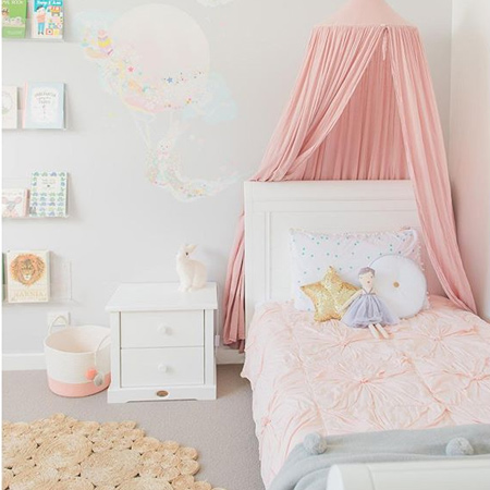 decorating designs dreamy bedroom for little girl