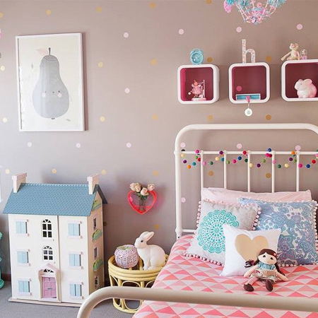 decorating ideas dreamy bedroom for little girl cute dollhouse