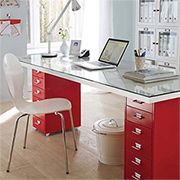 A modern desk on the cheap!