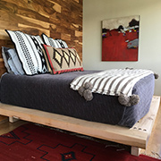 Make a chunky platform bed