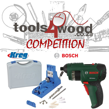 Your chance to win a Bosch PSR Select and Kreg K3
