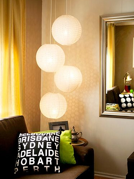 Chinese Paper Lanterns Can Be Used To Create An Eye Catching Feature