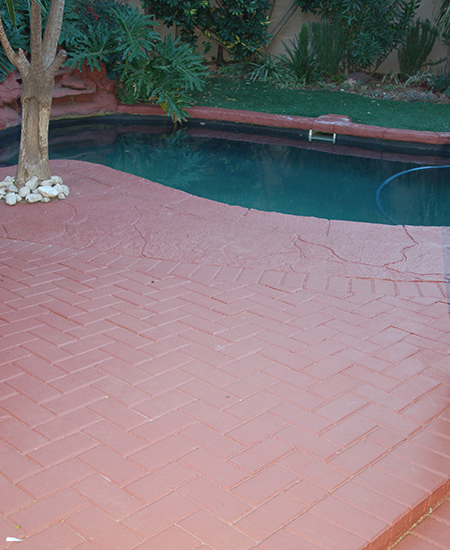 Home Dzine Garden Ideas Paving Paint On Concrete And Cement Paving