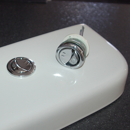 Quick Tip: Replace dual-flush button