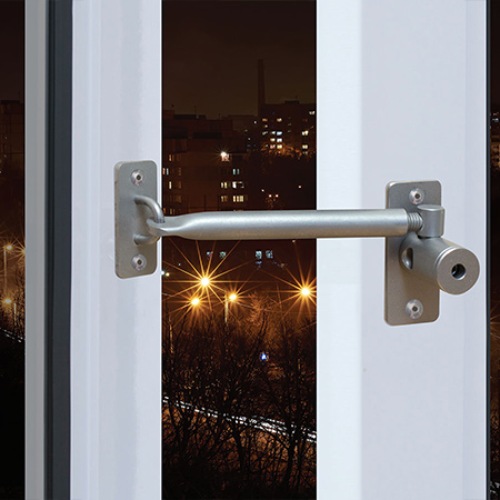 You can also use LockLatch as a window restrictor on children's bedroom windows to keep your children safe.