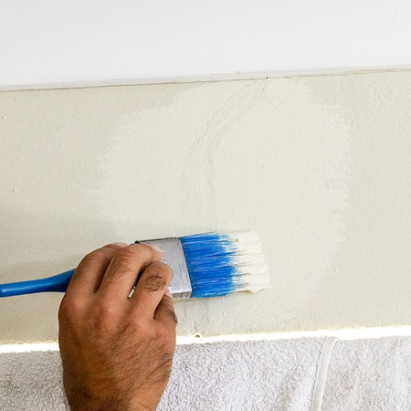 4. Once dry, apply a universal undercoat before painting.