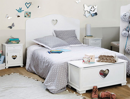 Take advantage of this December Deal on Children's Furniture and create a magical bedroom for your daughter.