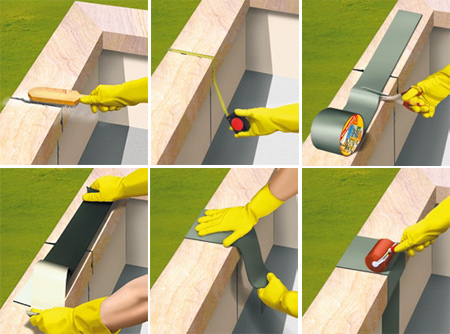 Repair your roof fast with Sika MultiSeal-ZA tape!