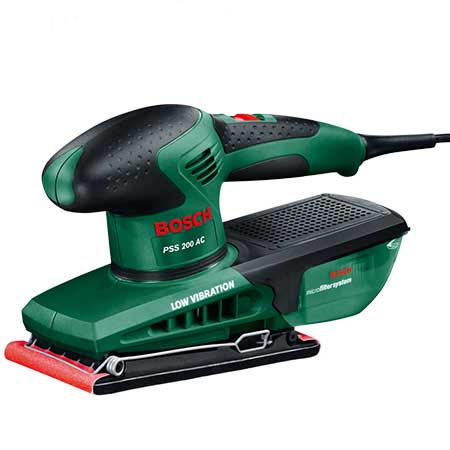 Take advantage of festive specials and buy an Orbital Sander at R730. The Bosch PSS200AC orbital sander allows you to use inexpensive sanding sheets, as opposed to expensive sanding pads, for a variety of sanding projects